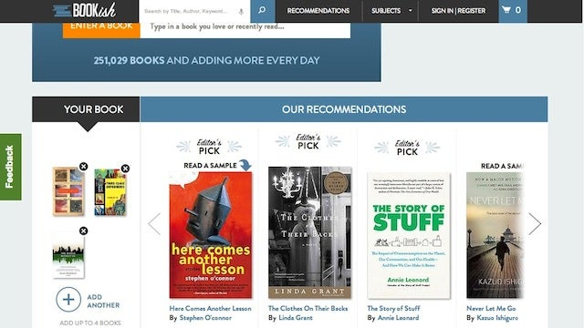 Bookish Combines Expert Reviews and Data to Recommend Your Favorite New Book