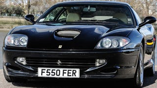 Why Buy A Jaguar F-Type When You Can Get This V12 Ferrari 550 For Less?