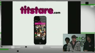"TechCrunch Disrupt Kicks Off with ""Titstare"" App and Fake Masturbation"