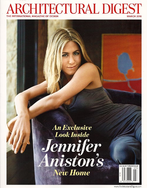 Guided Tours: The House Where Jennifer Aniston Cries Herself To Sleep