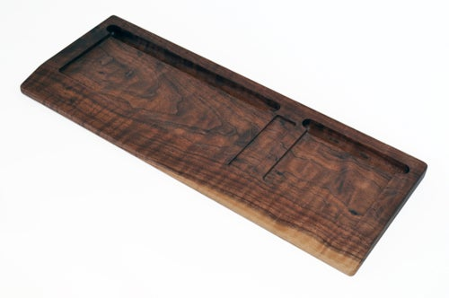 House Your Wireless Apple Products in a Nice, Wooden Tray