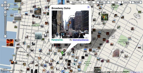 Google Maps Adds Wikipedia Articles, Geotagged Photos, Real Estate Listings