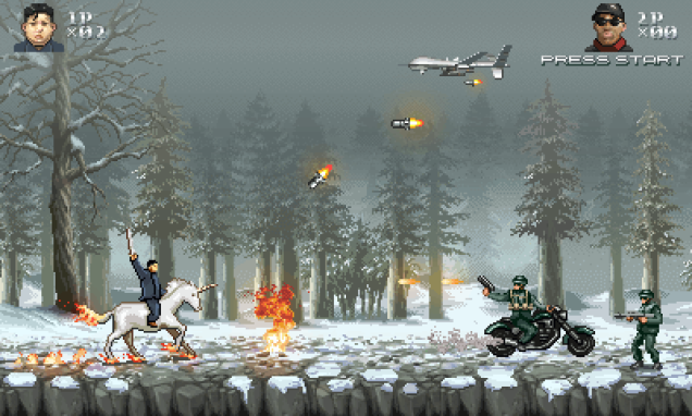 Hilarious retro game lets you play as Glorious Leader! Kim Jong-un