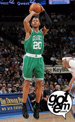 Visual Evidence That Ray Allen Has Never Moved His Right Elbow