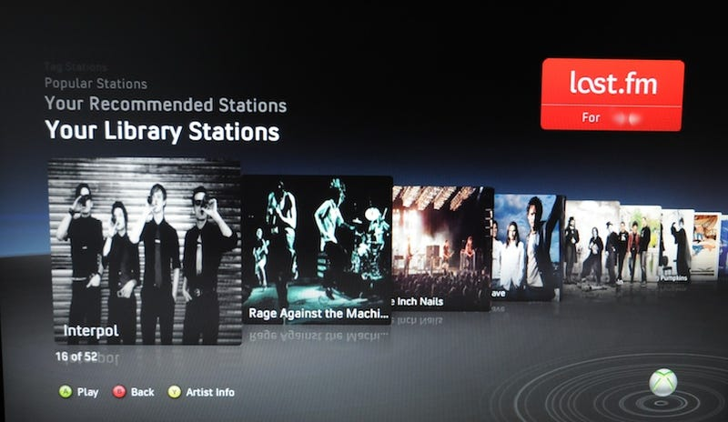 Facebook, Twitter, Zune and Last.Fm on Xbox Live Hands On: Hrm, That's Interesting