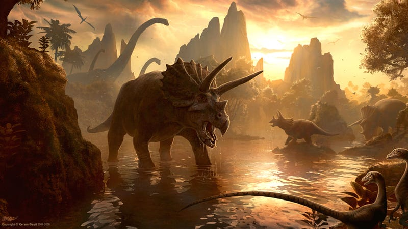 Some dinosaurs may have been in trouble even without the asteroid