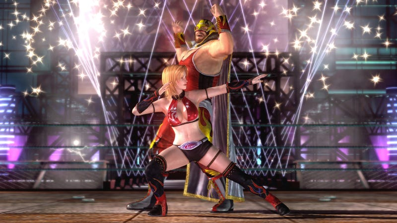 Jann Lee Takes on Tina in Dead or Alive 5's Tag Mode