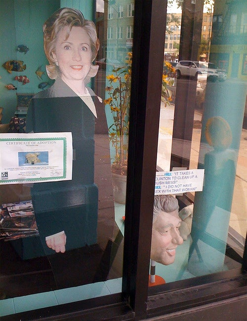 Chicago Dentist Behind 'Hillary for 2012' Ads Is Even Creepier Than We Thought