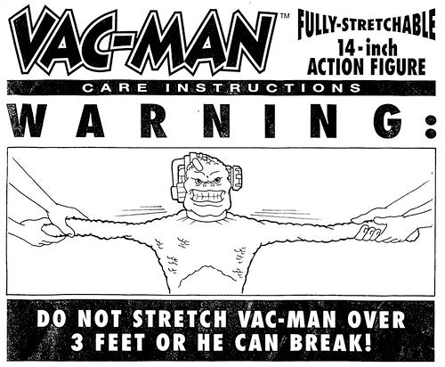 Vac-Man Was One Space Monster Who Sucked, Literally