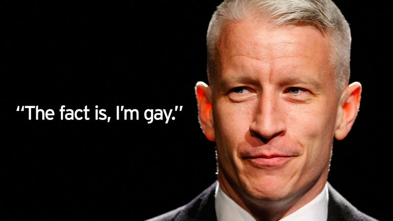Anderson Cooper Finally Comes Out