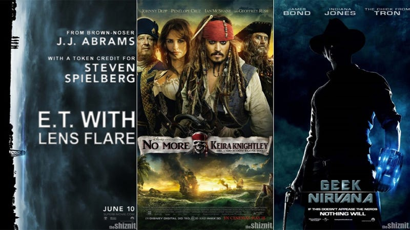 If this summer's movie posters told the truth, they'd look just like this...