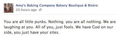 Watch These Horrid Restaurateurs Have a Total Facebook Meltdown