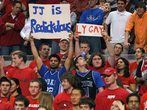 Duke Haters: Stop Calling Blue Devils Gay