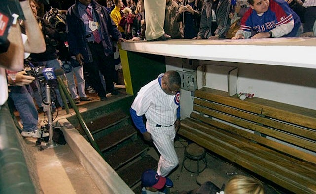 OK, Who Pooped In Dusty Baker's Dugout Spot?