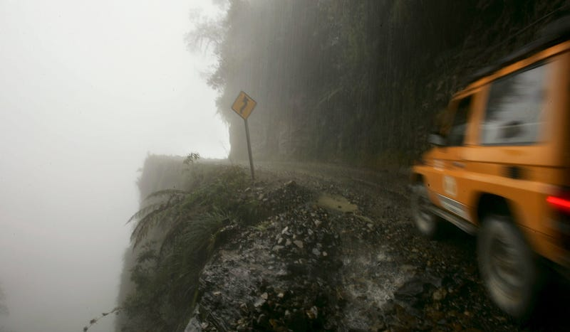 The Most Terrifying Roads In The World
