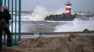 Cruel Winds Tear Through Western Europe Causing Damage, Ruining Hairdos