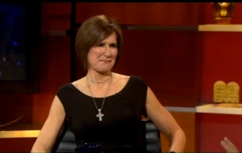 Mary Matalin And Stephen Colbert's Conversational Competition