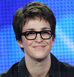Geeking Out With Rachel Maddow Over Cocktails, Lip Gloss & Politics