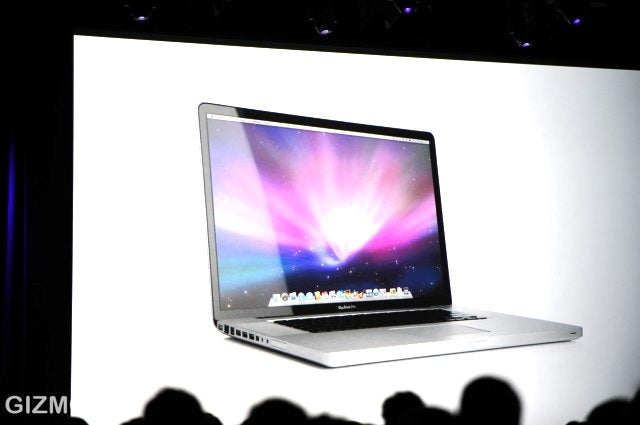 17-inch MacBook Pro is Unibody, $2799