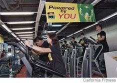 User-Powered Gym Saves Money (For the Gym)