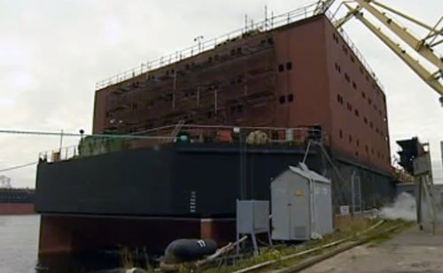 Russia Is Building Floating Nuclear Reactors Near the North Pole