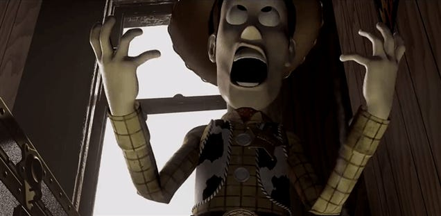 Toy Story As A Horror Movie? Makes Sense To Me.