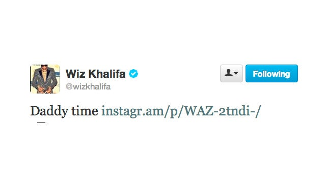 Wiz Khalifa and Amber Rose Are Having Their Baby