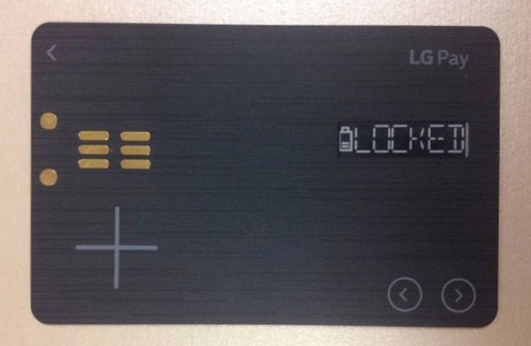 LG's Rumored 'White Card' Looks Like Another Smart Card Disappointment