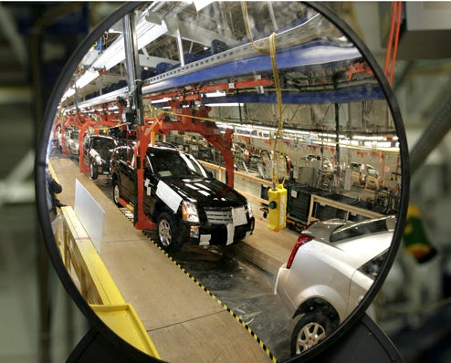 GM Cutting Q1 Production By 250,000 Units, 30% Of Capacity