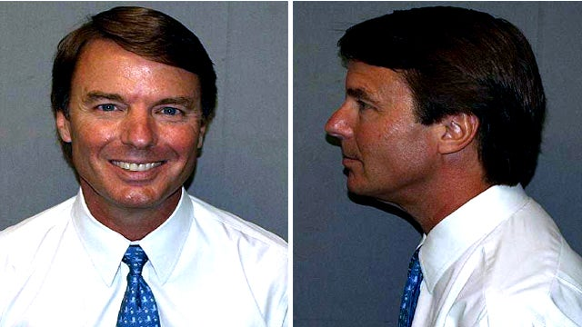 Here's John Edwards' Mug Shot