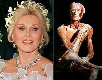 Zsa Zsa Gabor's Corpse May Be Turned Into Museum Piece