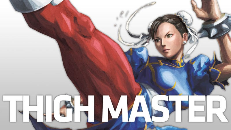 How Thick Should Chun-Li's Thighs Be?