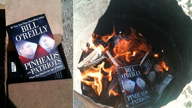 Troops in Afghanistan Burn Donated Copies of Bill O'Reilly's Books