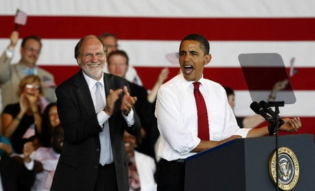 Obama Decides Corzine Will Probably Win