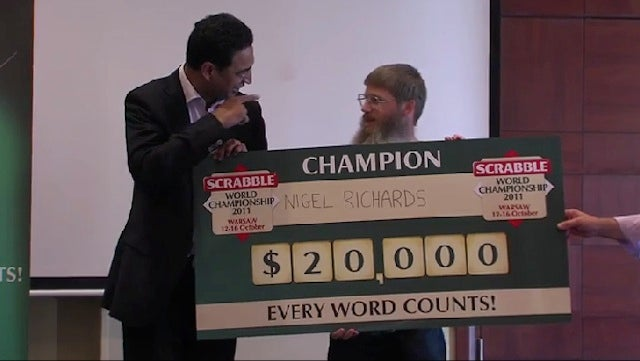 "Strip-Search Demanded At World Scrabble Championship To Find Letter ""G"""