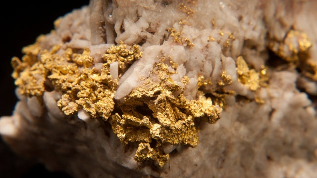 Most gold deposits were produced by earthquakes