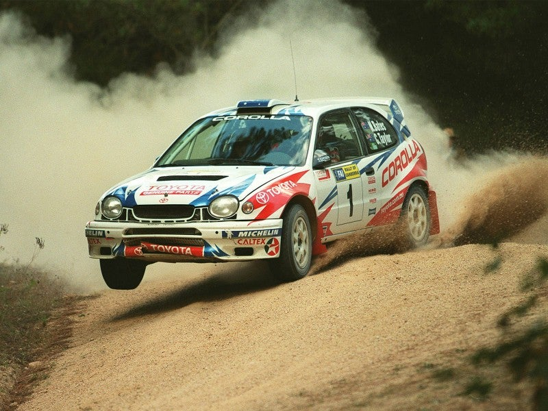 Toyota won't join WRC in 2015