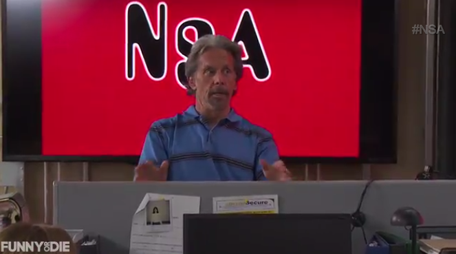 This Week's Top Comedy Video: NSA on TV