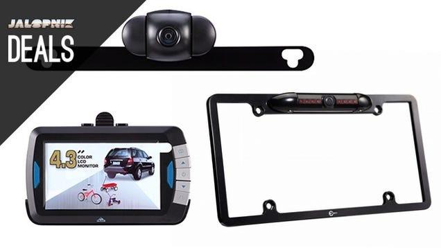 Two Backup Cameras Under $100, Steel Pegboard, Work Mat [Deals]