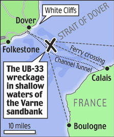 Zombie U-Boat 33 Still Trying to Sink Ships in English Channel
