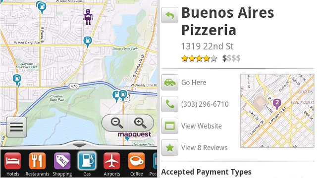 Mapquest for Android Offers International Maps, OpenStreetMap Turn-by-Turn