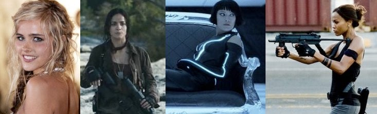 6 Stars Who Could Be The Next Female Action Hero