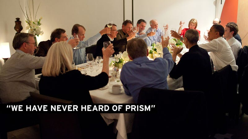 Back Door Access? Tech Giants Deny Knowledge of PRISM Spy Operation