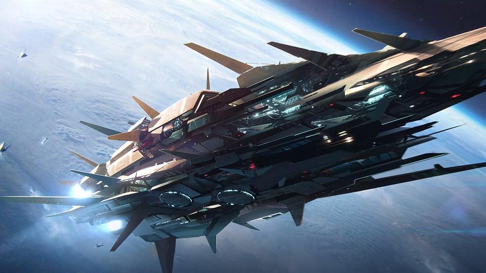 60 Amazing Spaceship Concept Art Wallpapers