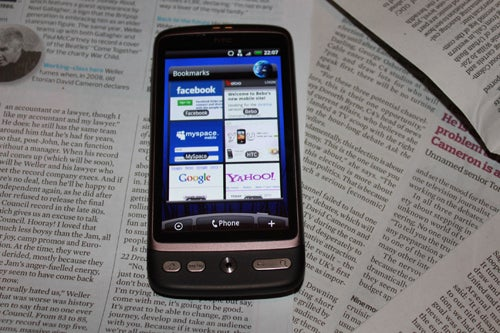 HTC Desire Review Gallery