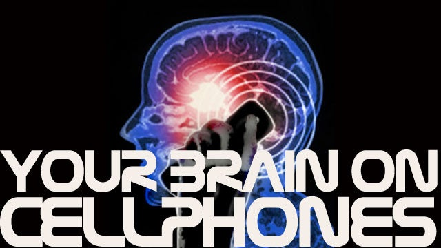 Cell phone radiation causes brain activity