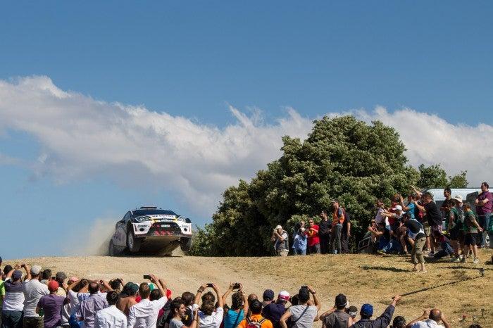 Behind The Scenes At WRC Sardinia