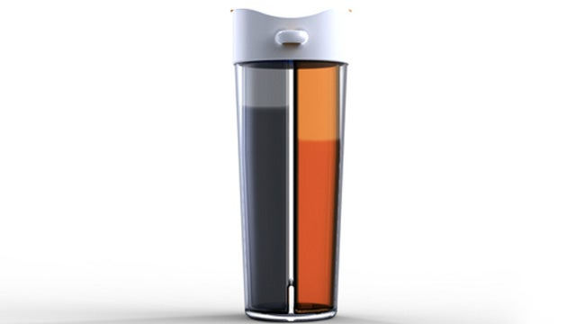 The Two-Beverage Water Bottle: Scotch or Whiskey? Scotch and Whiskey!