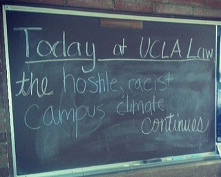 Racism At UCLA Is Slightly Out Of Control​