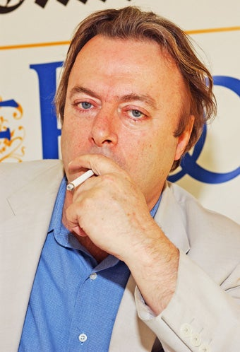 Is Christopher Hitchens OK?
